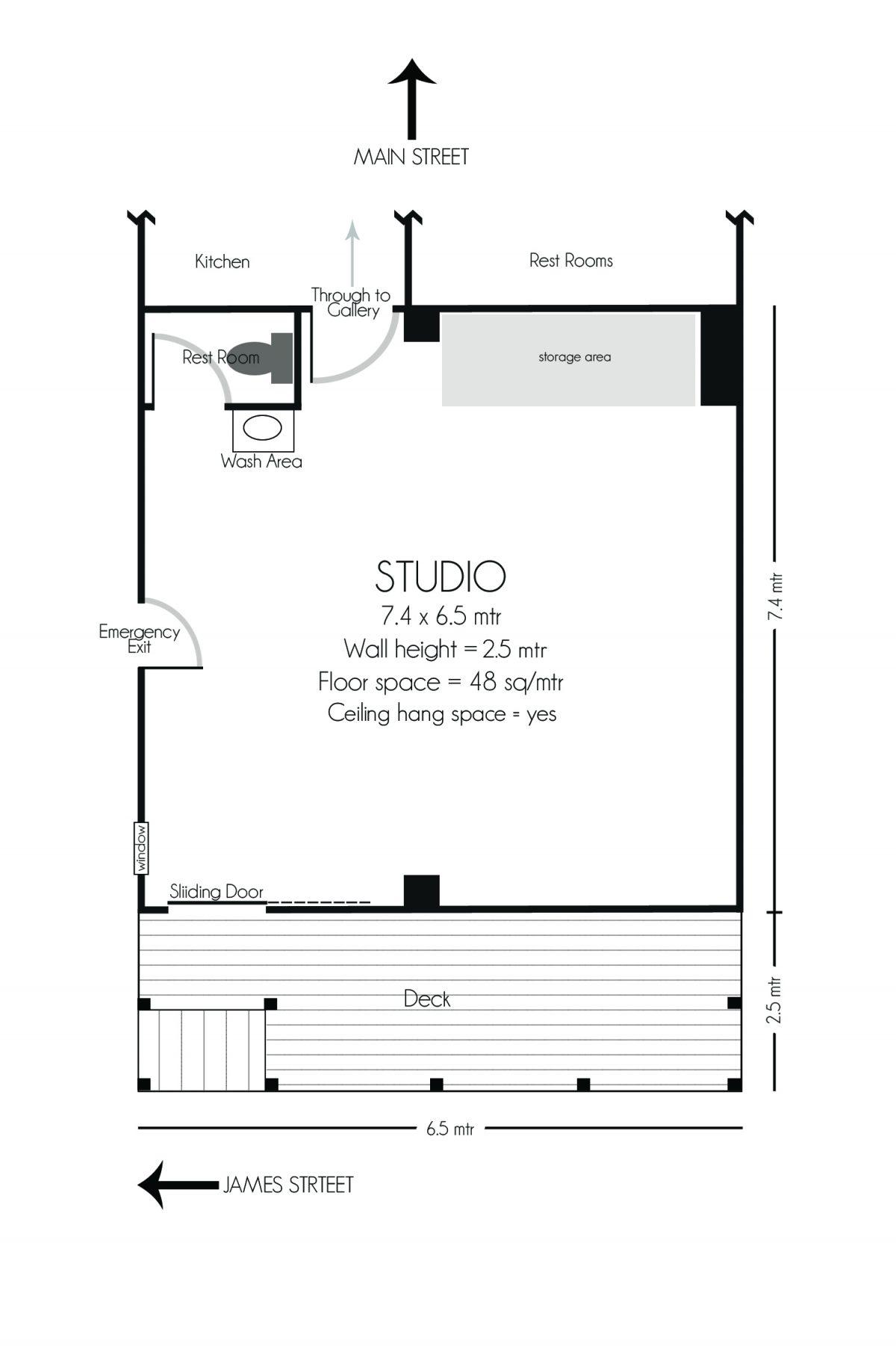 Workshop / Studio For Hire Gang Gang Gallery 2